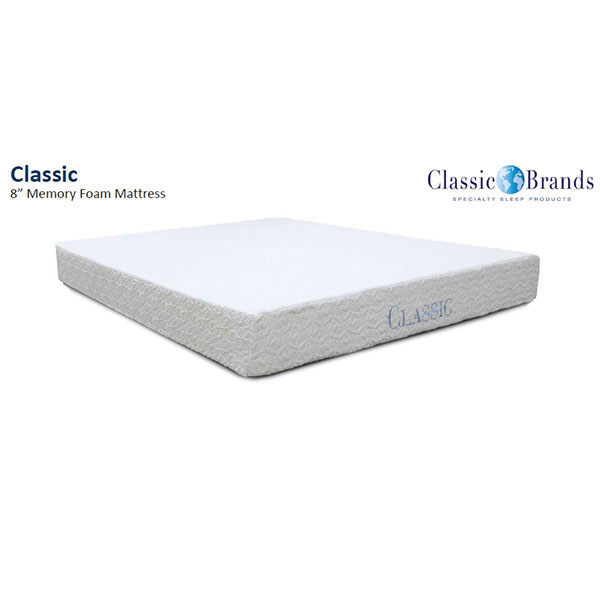 Classic Brand Ashbourne Inch Full Memory Foam Mattress