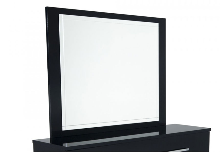 Ideal Italia Black Dimora Mirror