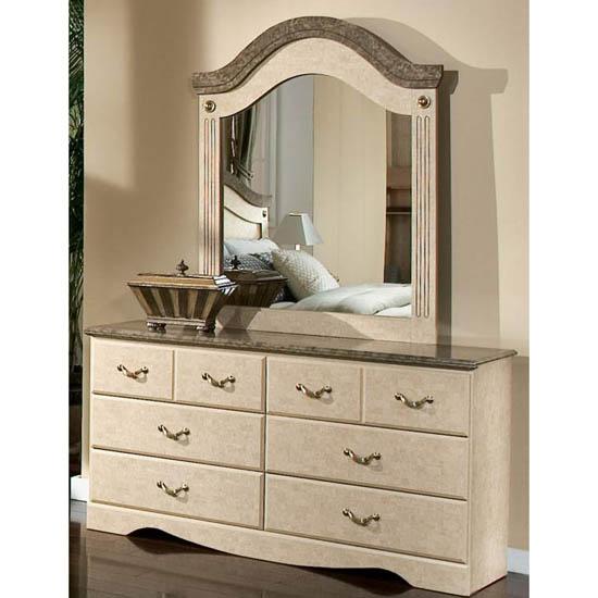 Standard Florence Six Drawer Dresser