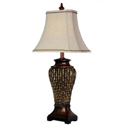 StyleCraft Bamboo Table Lamp