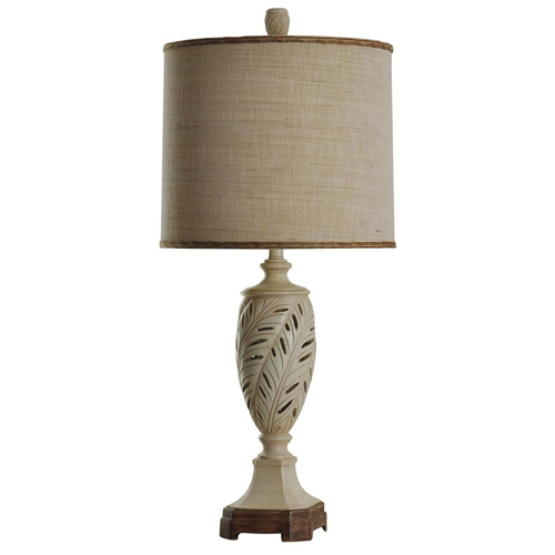 StyleCraft Leaf Motif Table Lamp