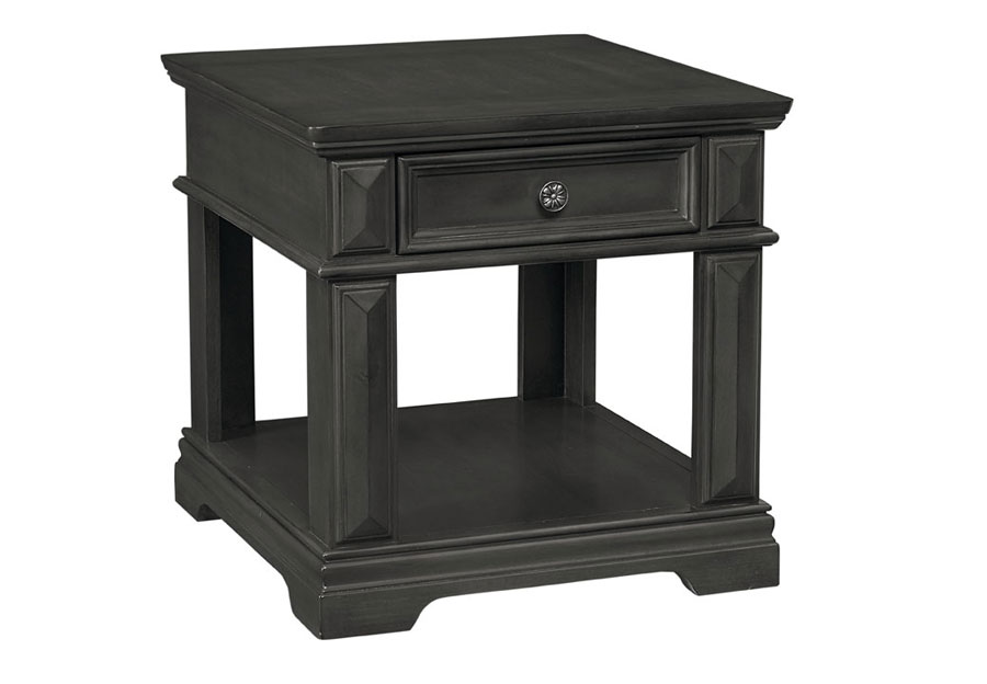 Garrison Gray End Table