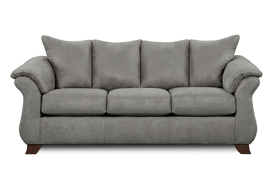 Affordable Furniture Sensations Grey Sofa