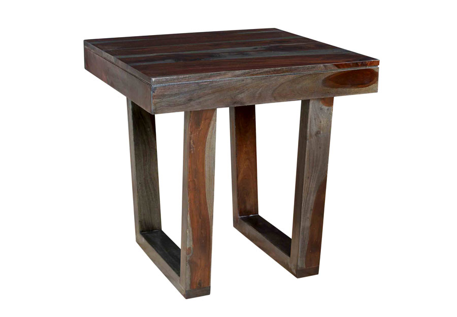 Coast to Coast Grayson Sheesham End Table