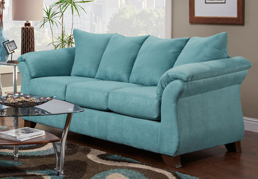 Affordable Sensations Capri Queen Sleeper Sofa