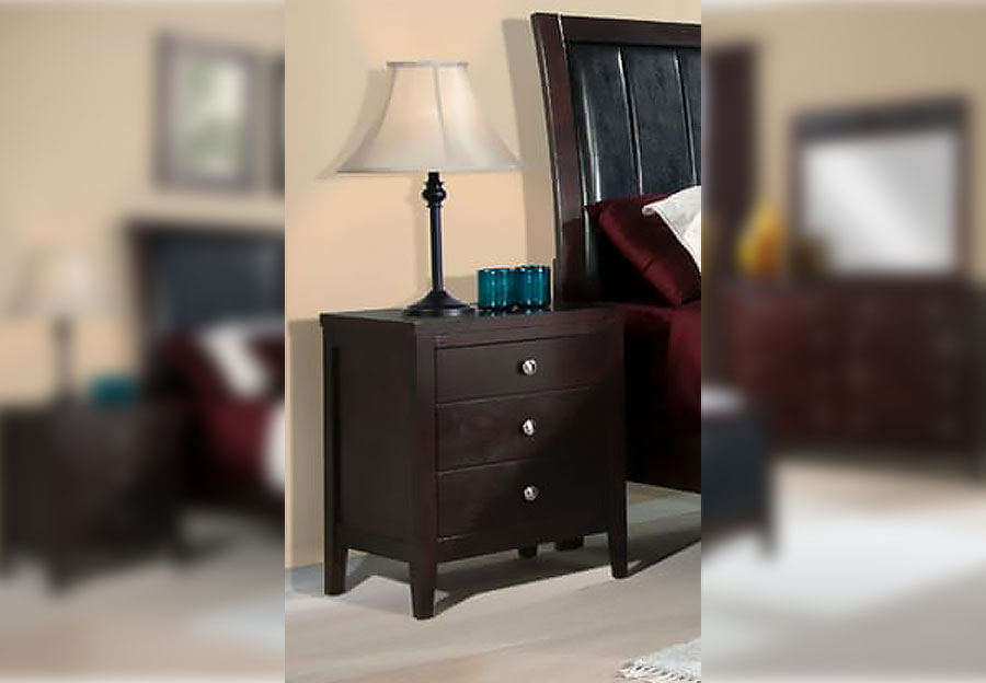 the furniture warehouse - beautiful home furnishings at affordable Merlot Nightstand