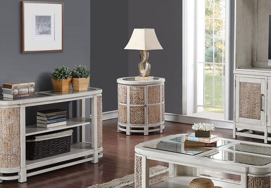 Home Insights Island Breeze Drum Table