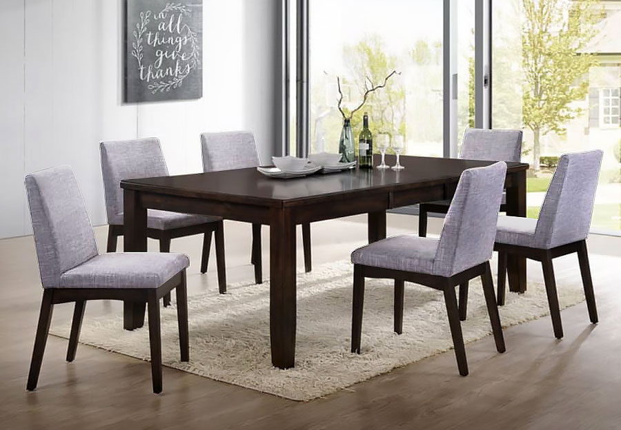 The furniture warehouse beautiful home furnishings at affordable elements piper dining table and four chairs sxxofo