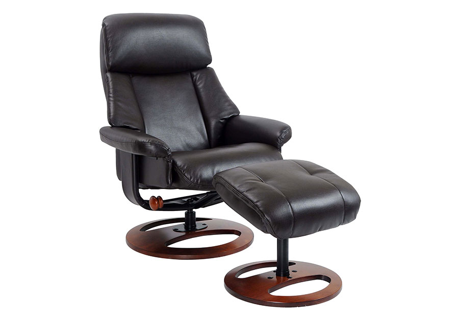 Benchmaster Swivel Chair with Ottoman in Java
