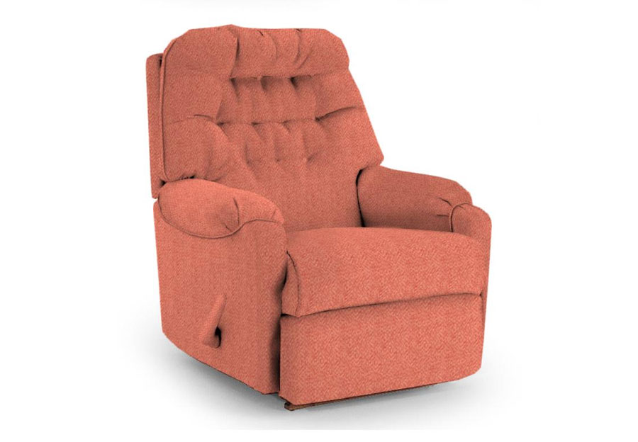 Best Chairs Sondra Coral Power Rocker Recliner