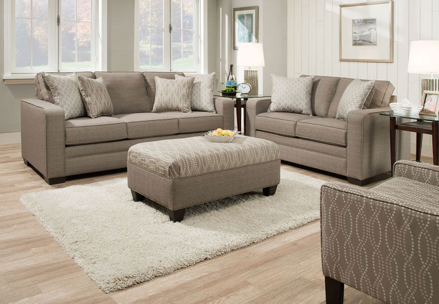 Simmons Sofa Set Furniture Brings Comfort To Your Home