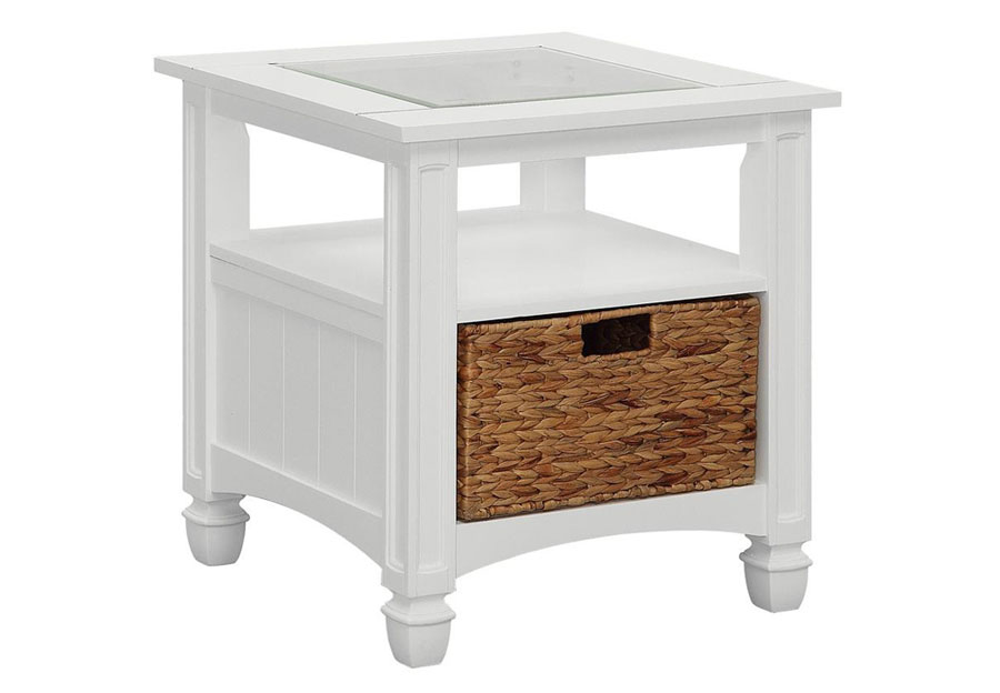 Coast to Coast Nantucket Square End Table