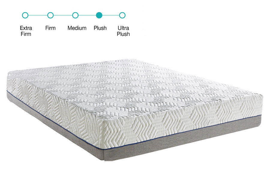 Classic Brands Queen 9.5 Hybrid Mattress