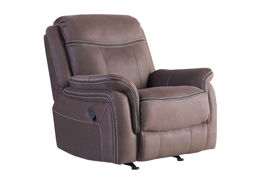 Standard Furniture Champion Brown Rocker Recliner