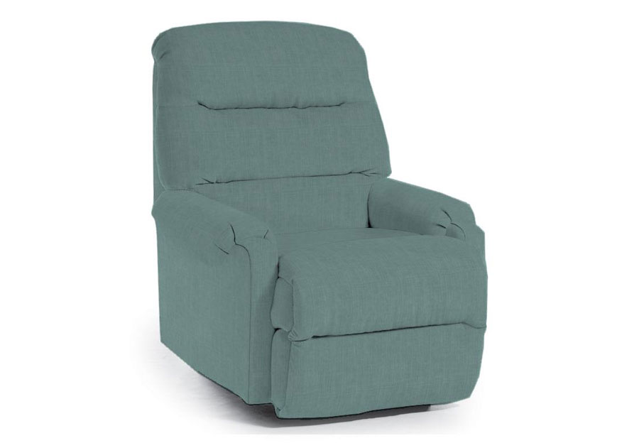 Best Chaise Rocker Recliner in Robins Egg