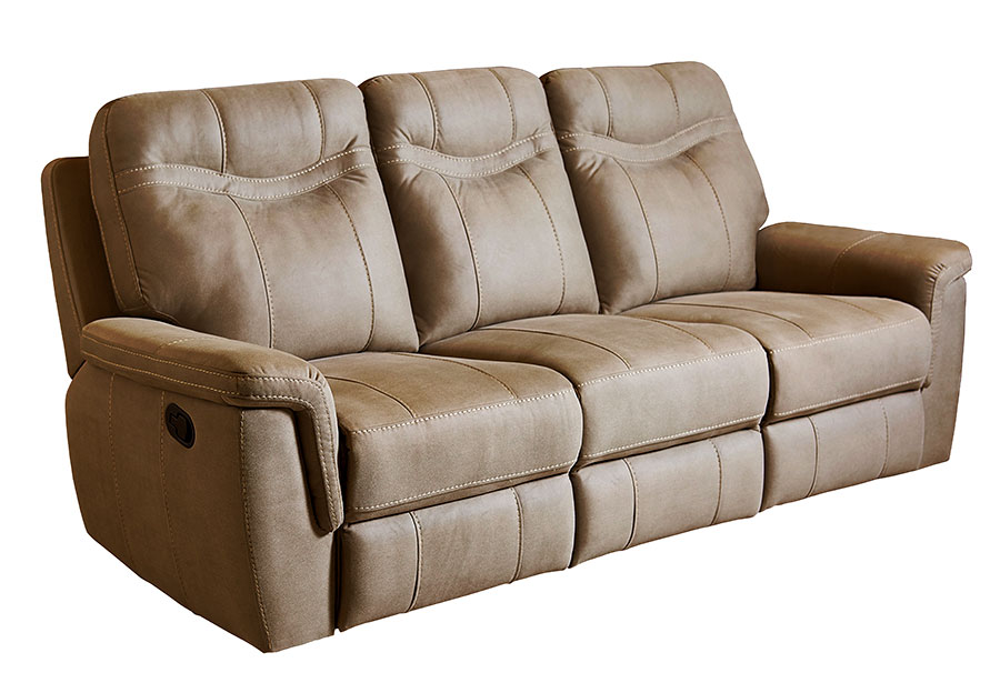 Standard Furniture Boardwalk Brown Reclining Sofa