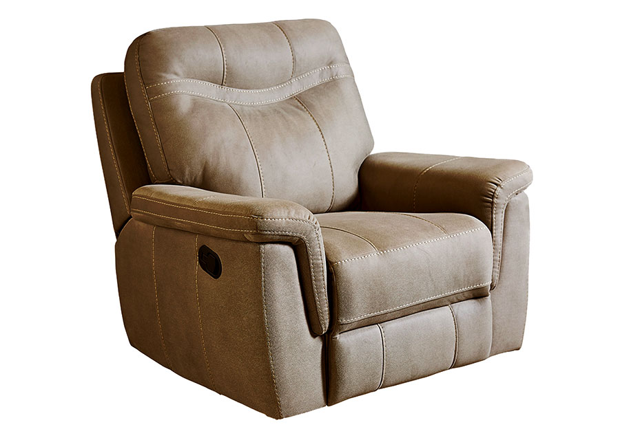 Standard Furniture Boardwalk Brown Rocker Recliner