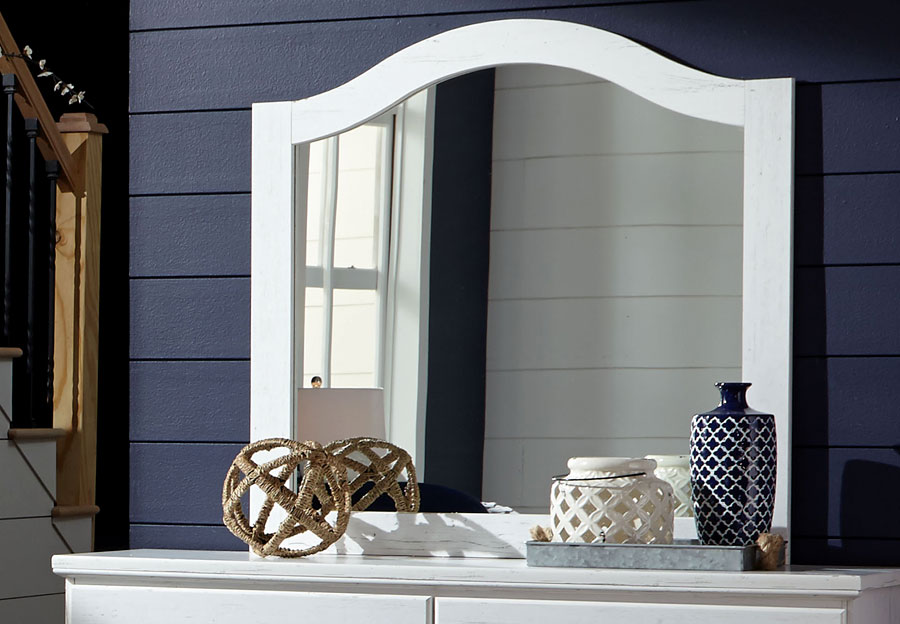 Standard Panel Mirror Taylor White
