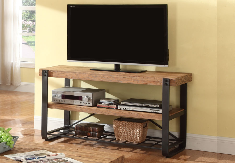TV Stand - Antique Black