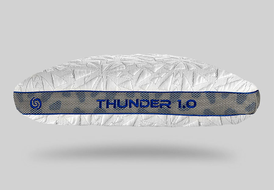 Bedgear Thunder 1.0 Performance Pillow - Queen Stomach Sleeper