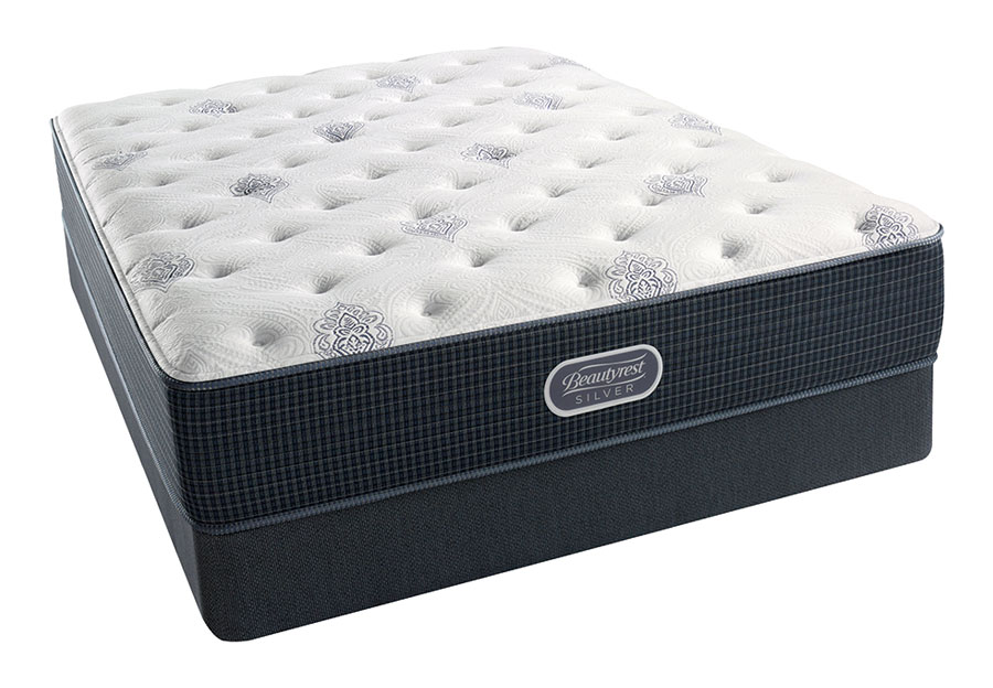Simmons Beautyrest Chesapeake Silver Luxury Plush Firm Mattress-King