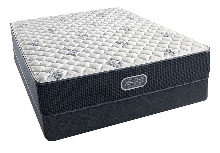 Simmons Beautyrest Chesapeake Silver Extra Firm Mattress-Queen