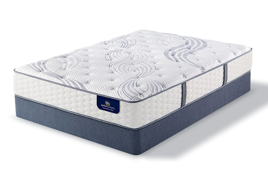 Serta Perfect Sleeper Visby Lake Luxury Plush Mattress-Queen