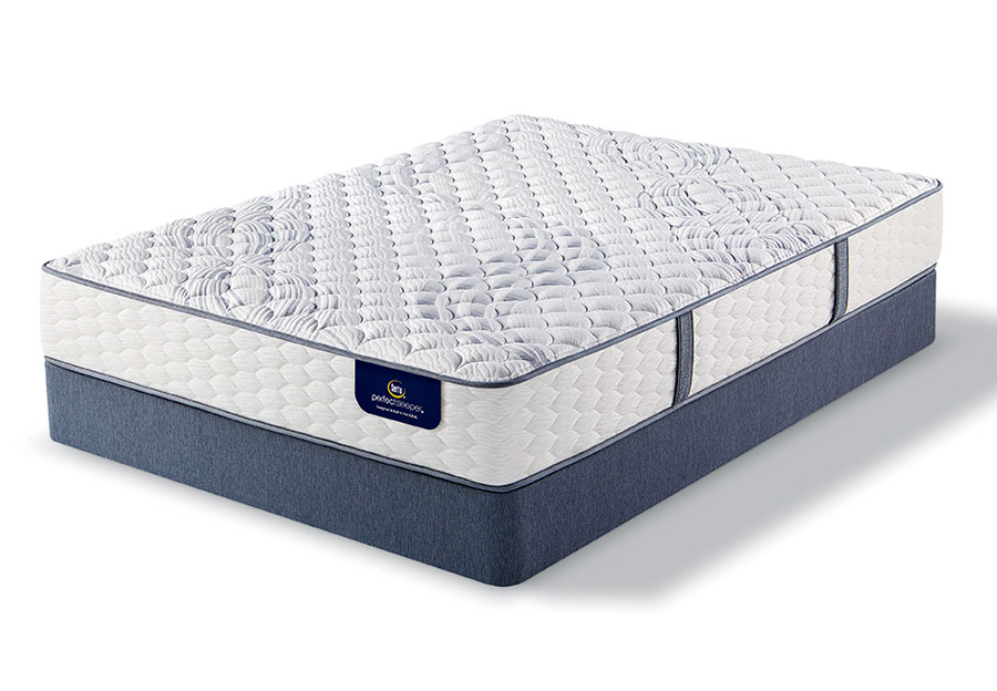 Serta Perfect Sleeper Visby Lake Firm Mattress-Queen