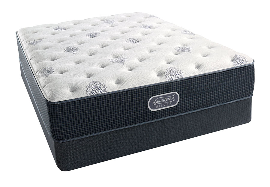 Simmons Beautyrest Barnegat Inlet Silver Plush Mattress-Queen