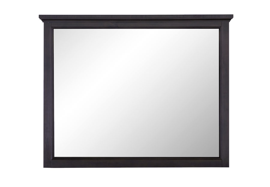 Magnussen Mill River Landscape Mirror, Weathered Charcoal Finish.