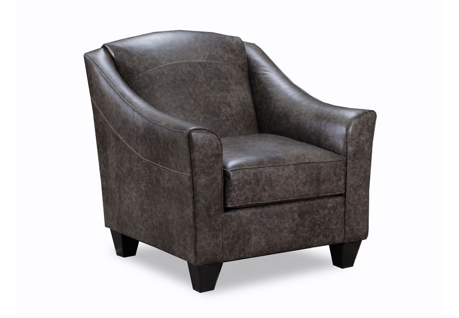 Simmons Beautyrest Accent Chair Craddock Nutmeg
