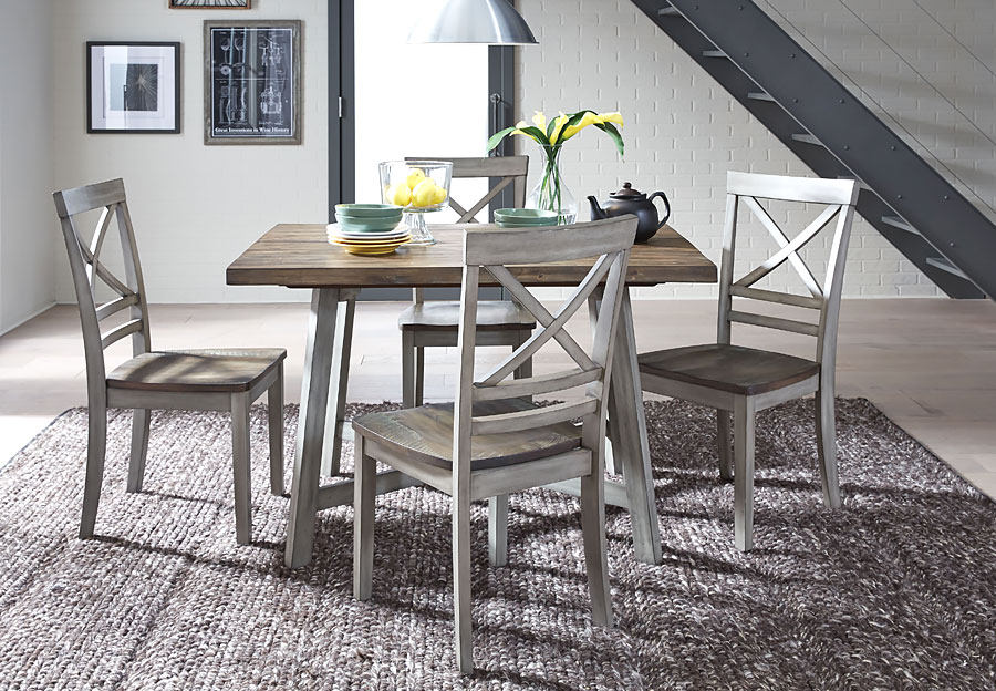 Standard Fairhaven Dining Table and Four Side Chairs