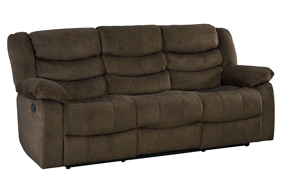 Standard Ridgecrest Dark Brown Reclining Sofa