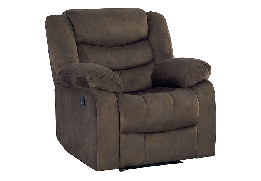 Standard Ridgecrest Dark Brown Manual Recliner