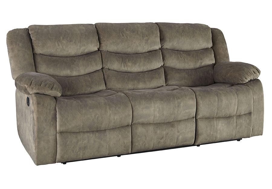 Standard Ridgecrest Grey Reclining Sofa
