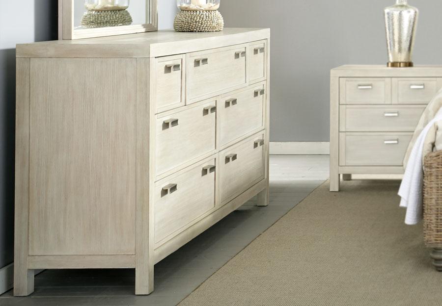 Panama Jack Graphite Seven Drawer Dresser