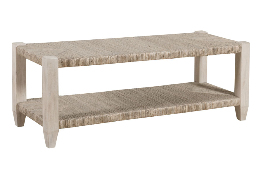 Panama Jack Graphite Woven Bed Bench