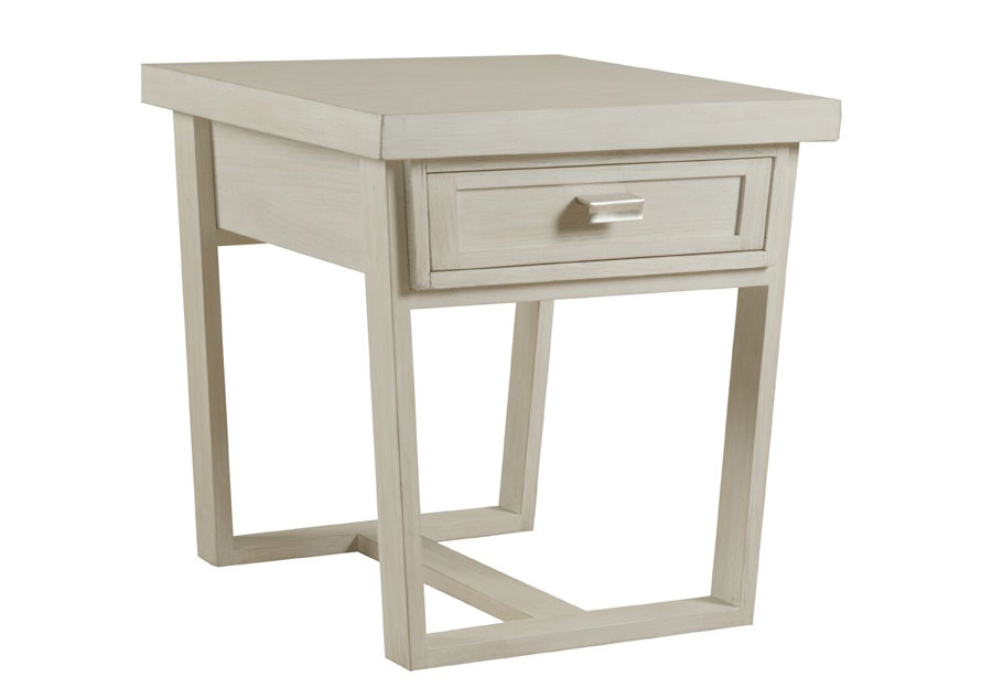 Panama Jack Graphite End Table with One Drawer