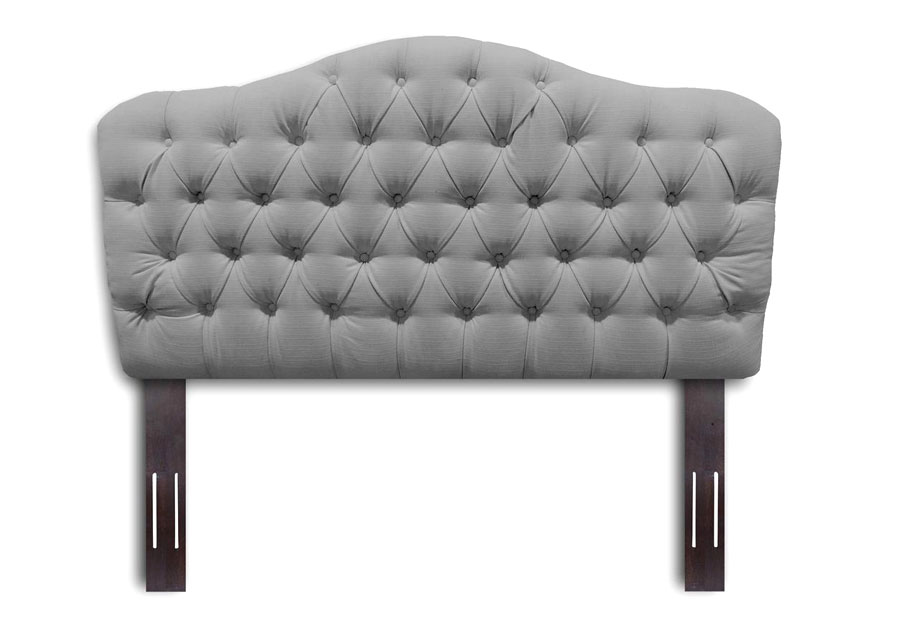 Leggett and Platt Martinique Grey King Upholstered Headboard
