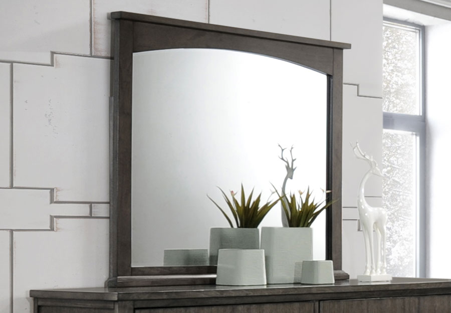 Simmons Preston Grey Mirror