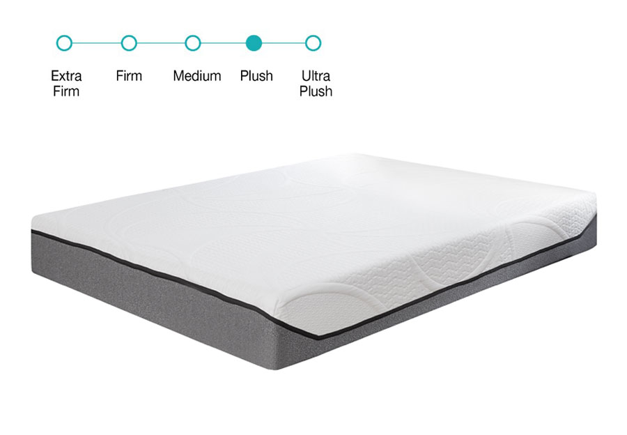 Classic Brands Twin 9 Gel Memory Foam Mattress