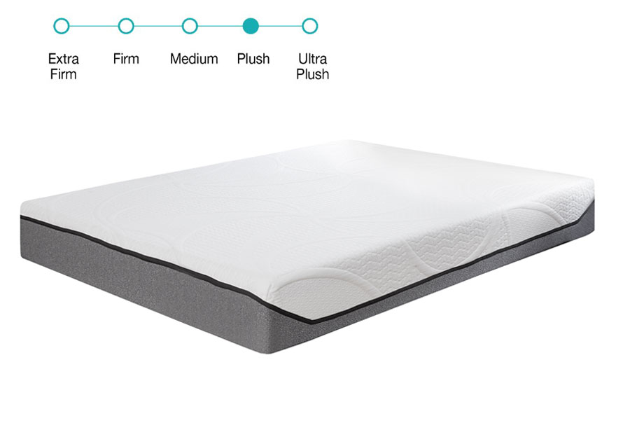 Classic Brands Queen 10.5 Gel Memory Foam Mattress