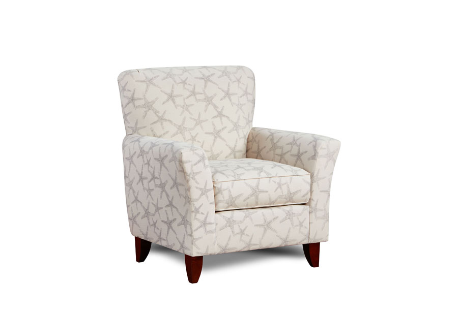 Washington Funriture Sea Friends Coastal Accent Chair