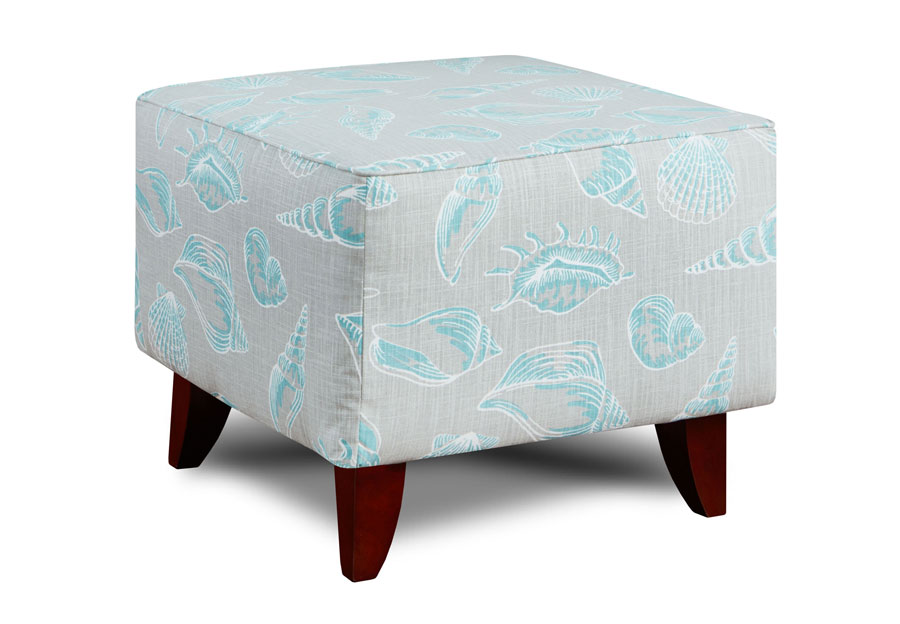 Washington Furniture Beach Treasure Fountain Ottoman