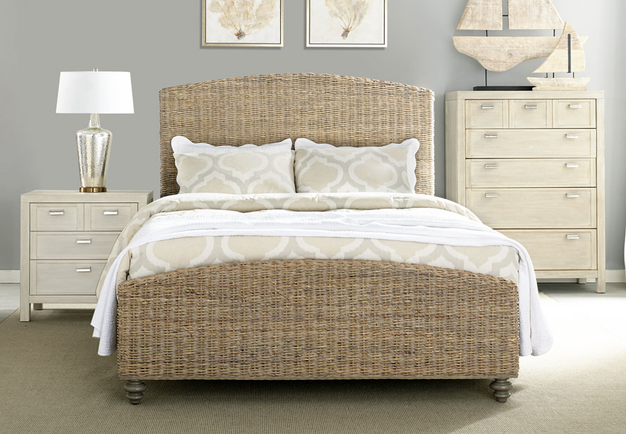 Panama Jack Woven Queen Headboard Footboard And Rails
