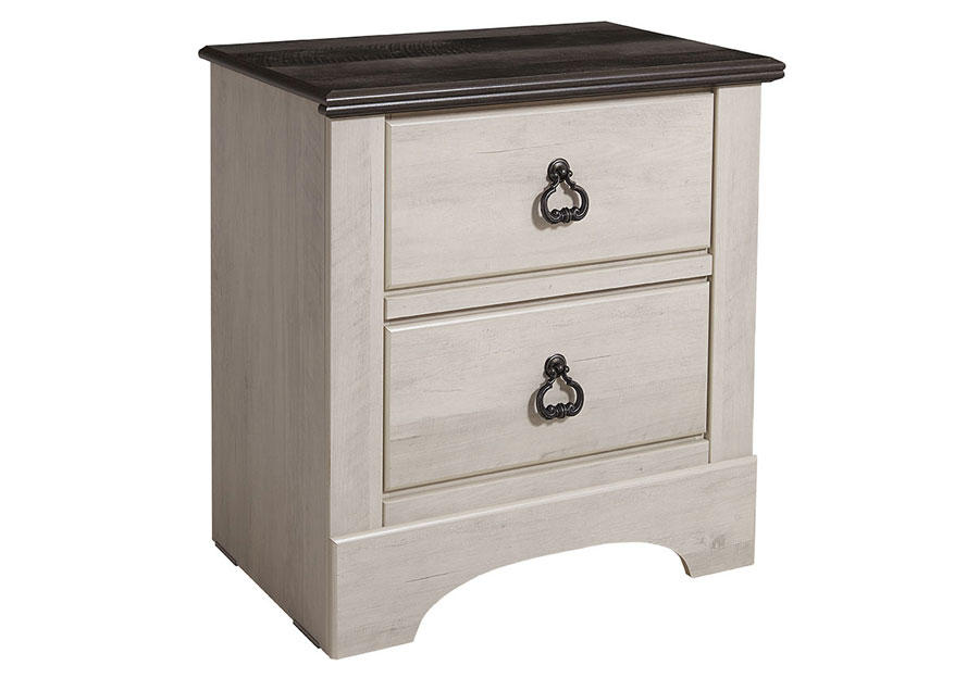 Standard Furniture Rivervale Two Drawer Nightstand