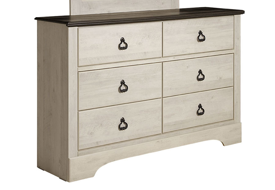 Standard Furniture Rivervale Six Drawer Dresser