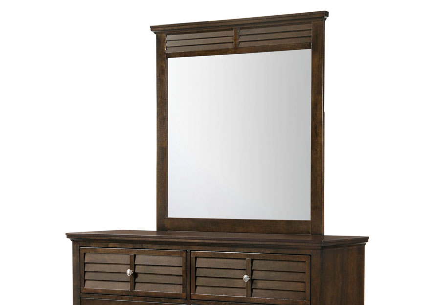 Lifestyles C7313 Brown Bevel Mirror