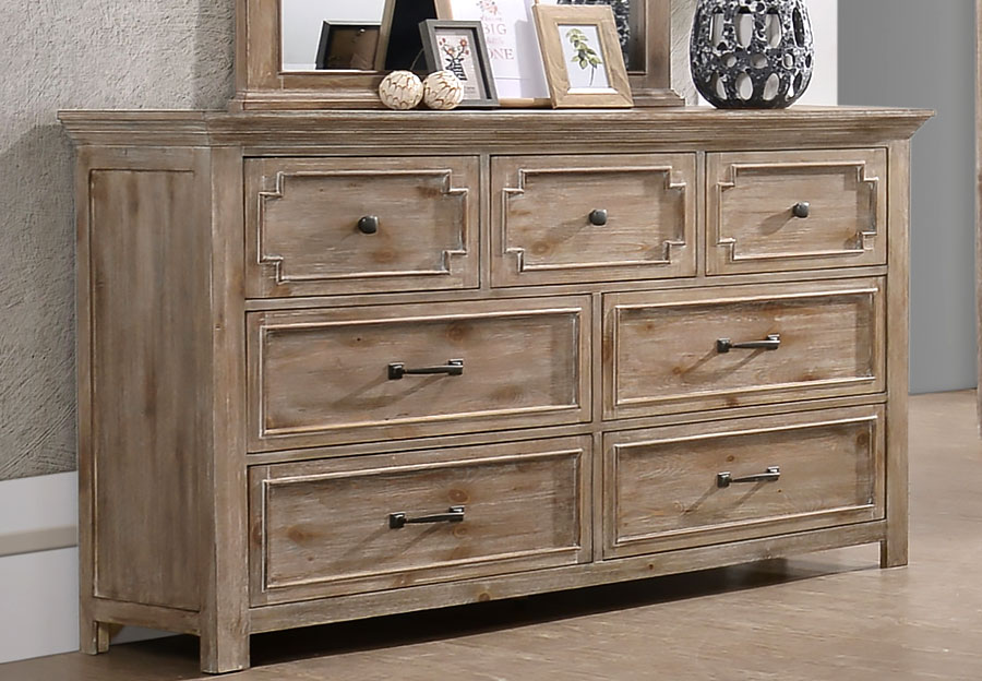 Lane Sante Fe Natural Six Drawer Dresser