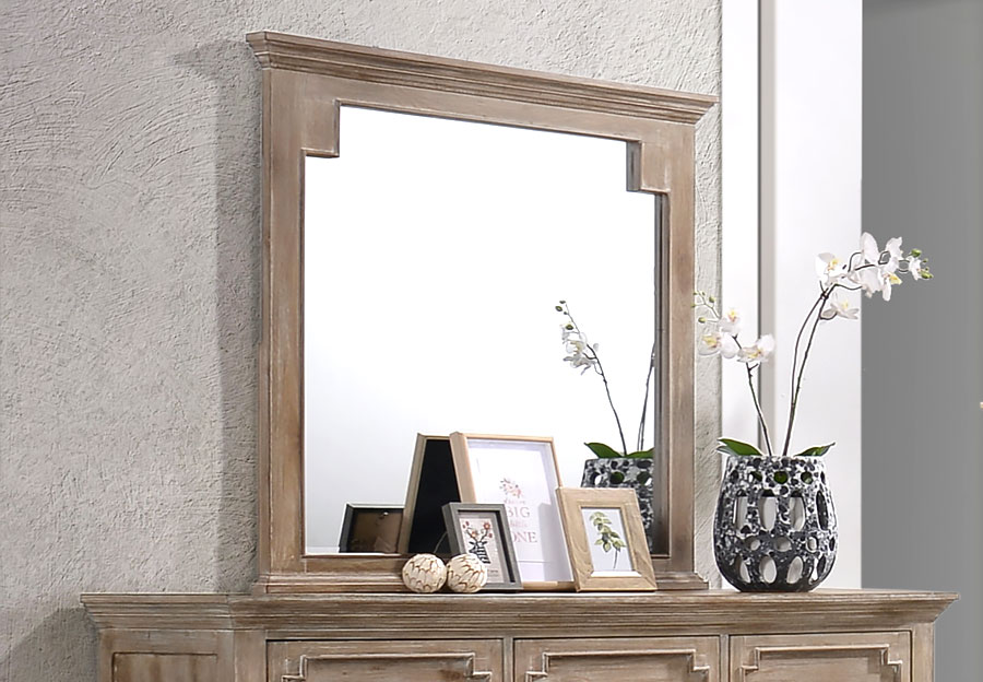Lane Sante Fe Natural Mirror